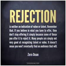 Image result for rejection