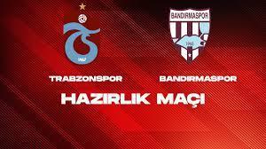 ÖZET - Trabzonspor 1-0 Bandırmaspor | Hazırlık Maçı (22.07.2021) - YouTube