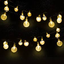 Gazebo Canopy Lights Details About Led Waterproof Crystal Ball String Lights For Gazebo Canopy Patio Outdoor Design
