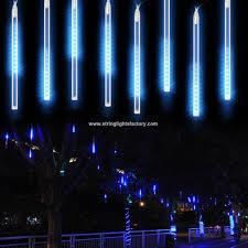 Promotional Led Lights Promotional 30cm 8 Tubes 144 Leds Lights Raindrop Meteor