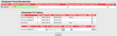 Half Mask Respirator Size Chart Respirator Info Chart Tab Product Documentation