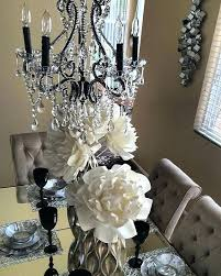 z gallerie dining from z a dining room gets a glam upgrade with our chandelier sequence vase
