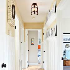 cottage style board and batten hallway on a budget