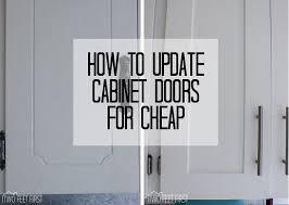 gray shaker cabinet doors. Update Cabinet Doors To Shaker Style For Cheap, Closet, Diy, Doors, Kitchen Gray