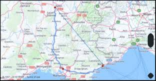 Compare prices on flight routes to top destinations worldwide with opodo and book the cheapest deal! What Is The Distance From Nice France To Lyon France Google Maps Mileage Driving Directions Flying Distance Fuel Cost Midpoint Route And Journey Times Mi Km