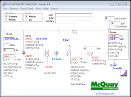 Psychrometric Chart Program Free Uncommon Heat Load Conditions How To Estimate Coil Capacity