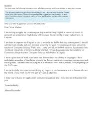 Sample Writing Cae Exam Letter Of Application 30 34 101