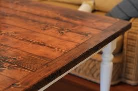 reclaimed farmhouse dining table