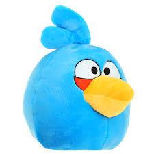 "<b>Мягкая игрушка</b> ""<b>Angry Birds</b>"", синяя птица, 37 см"
