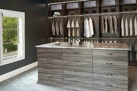 men s dressing room with custom walk in closet lighting system
