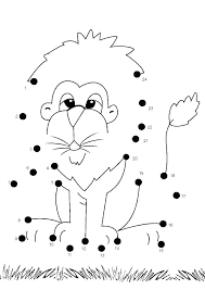Dot Coloring Pages Hard Connect The Dots Printable Connect Dot To