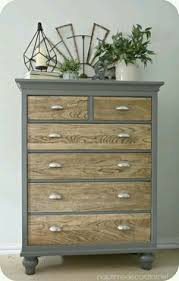 old furniture makeovers. Unique Makeovers Dresser Makeover  Natural Wooden Drawers With Upcycled Grey Painted Outer  Frame Throughout Old Furniture Makeovers F