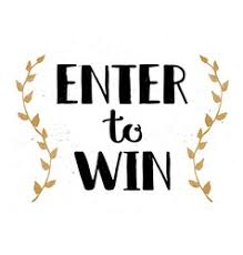 raffle sign enter to win sign win prize win in lottery vector image
