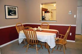 remarkable dining room color ideas with chair rail with dining room color schemes with chair rail