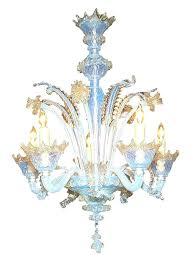 lovely venetian glass chandeliers and vintage italian