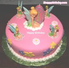 Tinkerbell Birthday Cake For Girls 2happybirthday