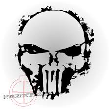 Punisher Skull Spray Paint Edition - Overwatch Designs