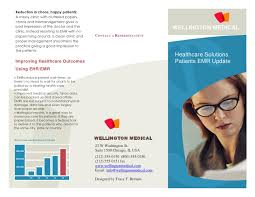 Medical Brochure Template New Healthcare Brochure Sample