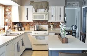 Painted Kitchen Furniture Painted Kitchen Cabinets Adding Farmhouse Character The Other