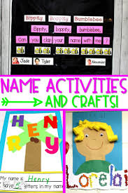 Interactive Charts For Preschool Fun Name Activities For Early Learners Kindergarten Name