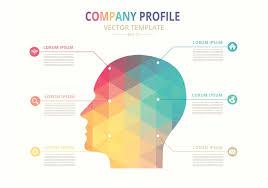 Free Template Company Profile Design Free Vector Company Profile Template Company Profile