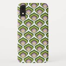 Half an avocado character phone background vector. Avocado 1970s Wallpaper Patten Case Mate Iphone Case Zazzle Com