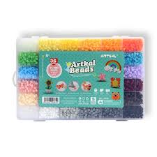 11,100 artkal fuse beads in a storage box 36 colors pixel beads Fuse Storage Containers 11,100 artkal fuse beads in a storage box 36 colors pixel beads