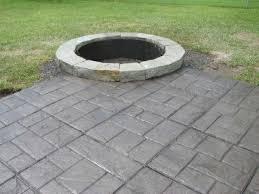 concrete patio designs with fire pit. Fire Pit On Concrete Patio Inspirational Designs With