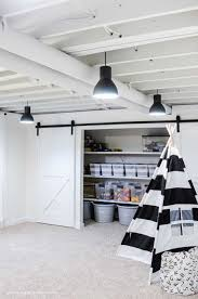 painted basement ceiling. Painted Basement Ceiling White