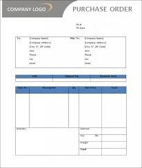 Purchase Order Templates Free Purchase Order Template Free Templates Free Premium