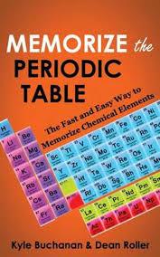 bol memorize the periodic table kyle buchanan 9780987564627 boeken