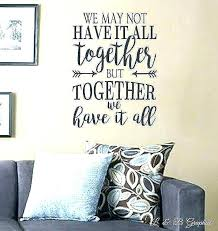 Wall Decor Quotes Stunning Bedroom Quotes For Walls Bonjourmini