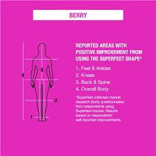 Superfeet Chart Superfeet Berry Womens Pain Relief Insoles Footwear Etc