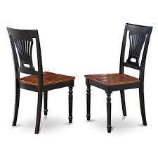 east west furniture pvc plainville dining chair set of 2 furniture chair set v37 furniture