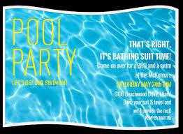 free printable blank pool party invitations. Simple Party Pool Party Invitation Template Free On Printable Blank Invitations A