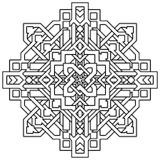 Coloring Sheets Printable Easy Geometric Patterns Wwwgalleryneedcom
