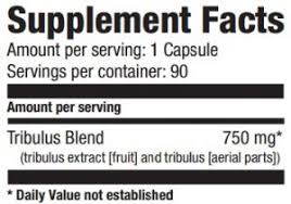 Резултат слика за ultimate nutrition bulgarian tribulus supplement facts
