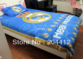 2018 real madrid fc soccer bedclothes single bedding pillow case duvet cover bed sheet from home1688 94 97 dhgate com