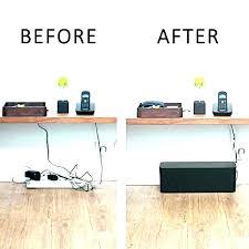 desk cable organizer computer