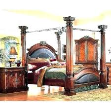 Bed Post For Sale Canopy Bed Posts King Size Post Bed Frame Four ...