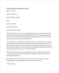 Offer Acceptance Email Sample 67 Acceptance Letter Examples Word Apple Pages Google