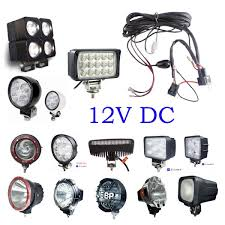 car led light tools energy saving led light led light bulbs rgb spot flood led hid work driving light wiring loom harness 12v 40a switch relay