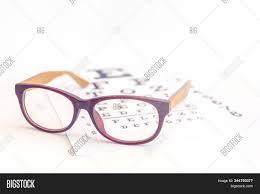 Close Eyeglasses On Image Photo Free Trial Bigstock