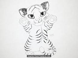 easy tiger pencil drawing. Plain Pencil Images For U003e Easy Tiger Drawings Drawing Tattoo Children  Images Inside Pencil Drawing U