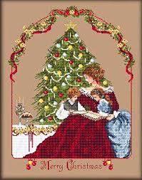 Merry Little Christmas Cross Stitch Chart