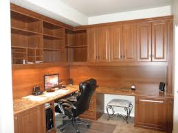 custom office desk designs. Chic Designer Desk For Home Ideas With L Shape Brown Wooden Color Stirring Computer Table Designs Custom Office