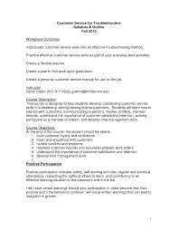 Customer Service Skills And Abilities It Resume Cover Letter Sample