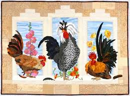 245 best Quilts - Chickens and Rooster Wall Hanging images on ... & Have just discovered these patterns designed by Maggie Walker and love  them. If you love applique you should check her site out. Adamdwight.com