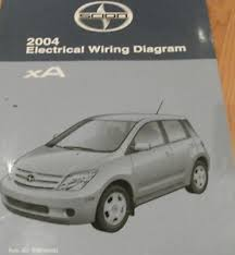 2004 toyota scion xa electrical wiring diagram service shop repair image is loading 2004 toyota scion xa electrical wiring diagram service