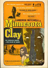 Amazon.com: Minnesota Clay (1964) Cameron Mitchell, Georges Rivière, Ethel  Rojo pressbook: Entertainment Collectibles